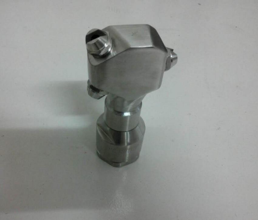 Tank cleaning flat fan spray nozzle eternal
